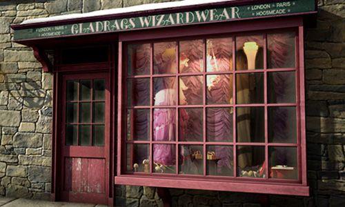 グラドラグス魔法ファッション店