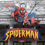 USJスパイダーマンの写真撮影のポイントは右斜め上を向いて!