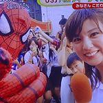 【動画】めざましテレビ USJハロウィーン2015・人気仮装のランキング特集