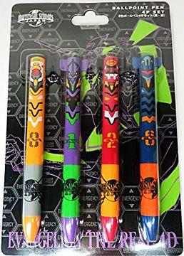 2色ボールペン4本セット