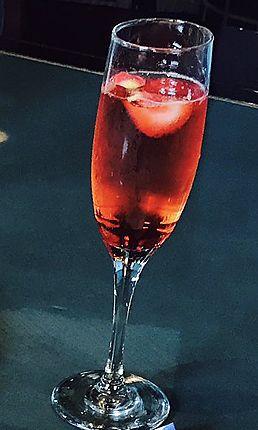 ストロベリー・スパークリングワイン