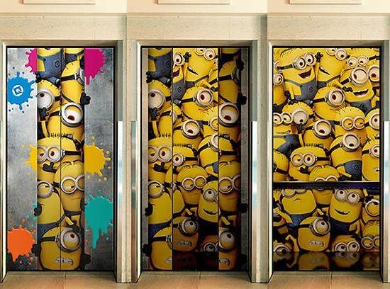 エレベーターはミニオン
