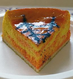 パンプキン・マーブル・チーズケーキ
