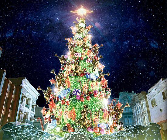 USJクリスマスツリー2017