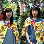 USJキンキキッズのブンブブーンで橋本環奈と桜井日奈子が夏休みを満喫