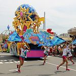 USJウォーターサプライズパレード 2018の時間と場所と特別エリア
