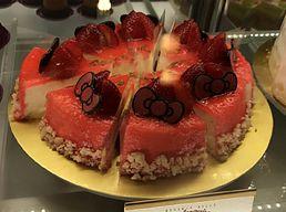 ストロベリー・レアチーズケーキ