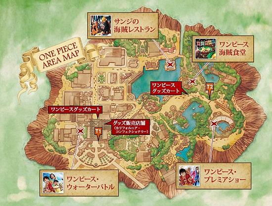 ワンピースエリアマップ2019