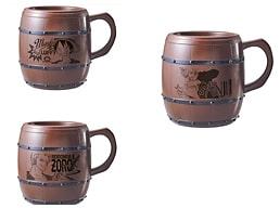 樽型ドリンクマグカップ