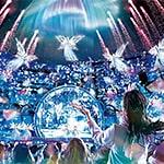USJクリスマス クリスタルの約束2019のショー有料特別鑑賞エリアチケット・当日券・場所取り・上映時間は何分間!?