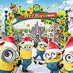 【2019】USJクリスマスミニオン・パークのイエロー・クリスマス – ミニオングリーティング・お土産グッズ・ポップコーン
