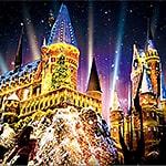 USJクリスマス ホグワーツ·マジカル·ナイト ウインター・マジック2019 – ユニバ ハリポタエリアの冬のホグワーツ城の時間