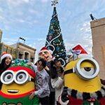 【動画】USJ王様のブランチで藤森慎吾らがユニバクリスマスイベント2019を巡る