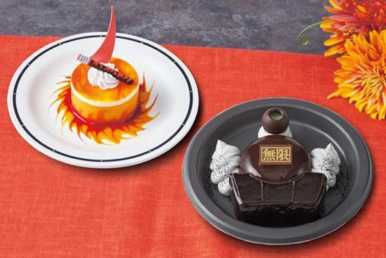 炎柱のオレンジレアチーズケーキ 闇を往く無限列車